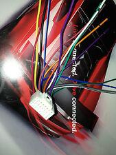 POWER ACOUSTIK PD-712B PD-718B  PD-718NBT 16 PIN POWER PLUG HARNESS