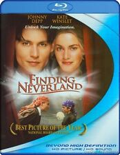 FINDING NEVERLAND*****BLU-RAY*****REGION FREE*****NEW & SEALED