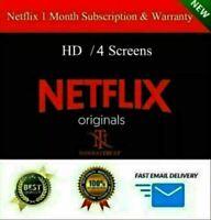 ☑️ PREMIUM ACCOUNT ☑️ NETFLX 1MONTH | Warranty ☑️ | Private ☑️