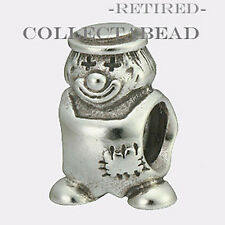 Authentic Pandora Sterling Silver Clown Bead 790397 *RETIRED*