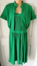 Doree Leventhal Vintage Evening Party Prom Maxi Dress. Matching Jacket. Size 12