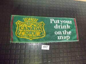 Canada Dry  Bar Towel Pub Beer Mat(417)