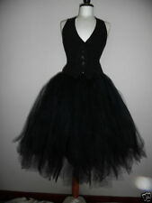 Knee Length Party Skirts Tulle Tutu for Women