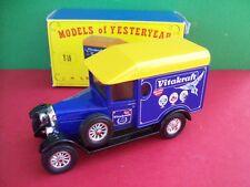 MATCHBOX MODELS OF YESTERYEAR 1929 MORRIS COWLEY VAN VITAKRAFT Y19-C CODE 2
