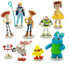 NIB Disney Toy Story 4 Deluxe Figurine Playset 9 PCS Figure Set Pixar