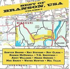 RARE US IMPORT CD BEST OF BRANSON USA VOL 2 MARIE OSMOND WAYNE NEWTON MEL TILLIS