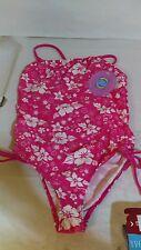 Sunbuster Kids Swimwear 1 Piece Floral 11-12