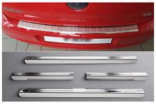 Per VW Polo V 6r ab Bj 2009 Chrome Paraurti spazzolato in Acciaio Inox Esterni auto
