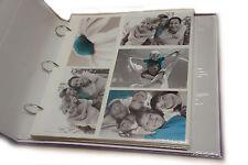 20 Recarga hoja contiene 200 fotos para grandes 6x4 ringbinder Álbum de Fotos al-6774
