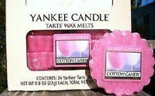"Box Lot of 24 Yankee Candle ""COTTON CANDY"" ~ Tarts Wax Melts ~ VHTF"