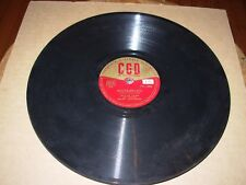 JULA DE PALMA danse avec moi / douce france - 78 rpm cgd 1290