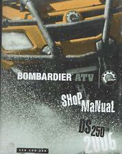 2006 BOMBARDIER ATV DS 250 SHOP MANUAL 219 100 236  (688)