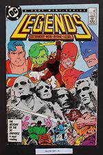 LEGENDS #3 DC First New SUICIDE SQUAD Blockbuster DARKSEID 1987 Movie VF/NM 9.0