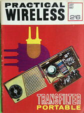Practical Wireless - July 1967 - Transfilter Portable, Vintage Magazine