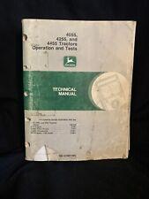John Deere 4055 4255 4455 Tractors Operation Amp Tests Tech Manual Tm1459 1190