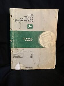 John Deere 4055 4255 4455 Tractors Operation & Tests Tech Manual TM1459 (11/90)