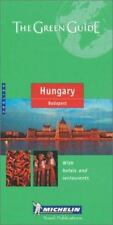 Michelin The Green Guide Hungary/Budapest (Michilin Green Guides) by Michelin T