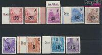 DDR 435-442 (kompl.Ausg.) mit 439b postfrisch 1954 Fünfjahresplan (II (9187994