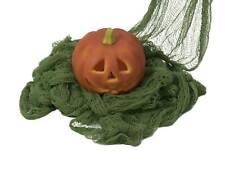 showking Halloween Dekostoff ZELENA, grün, 76x500cm - Halloween Stoff / Tuch