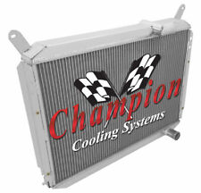 3 Row Ace Champion Radiator for 1984 85 86 87 88 1989 Nissan 300ZX V6 Engine