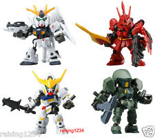 BANDAI Mobile Suit Gundam Frame Operation 01 Gashapon Figure (Set 4 pcs) Sazabi