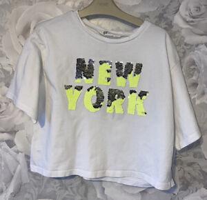 Girls Age 10-12 Years - H&M T Shirt