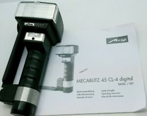 Metz handle mount 45 CL-4 DIGITAL Flash without Sync Cord