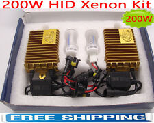 200W HID Xenon Conversion Kit Light Headlight H1 H7 H3 H11 9005 9006 White 6000K