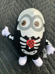"Despicable Me Plush Skeleton Minion Stuffed Animal Doll Toy Factory 10"""