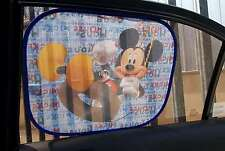 5Disney Side Car Sun shade Mickey Mouse Clubhouse X2 UV Protection for Children