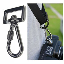 "Quick Release Snap Hook Connecting Ring & 1/4"" Screw Lock for Camera Sling Strap"