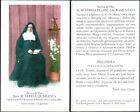 HOLY CARD SANTINO IMAGE PIEUSE - Suor M. TERESA QUARANTA, serva di Dio