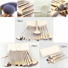 Vande 24Pcs Champagne Beauty Makeup Brushes Set Cosmetic Foundation Brush Tools