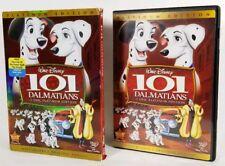 101 Dalmatians (Disney DVD, 2008, 2-Disc, Platinum Edition) w Slipcover *VG Cond