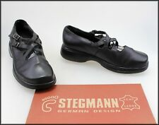 STEGMANN WOMEN'S LOW HEEL CASUAL COMFORT SUPPORT SHOES SIZE 8.5 W
