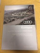 Genuine AUDI MMI faible de navigation (7T2) Mise à jour DVD Europe 2017 Data A4 A5 A6 Q5 Q7