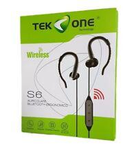 Cuffie Auricolari Bluetooth TeKone S6 Smartphone Tablet Musica Chiamate hsb