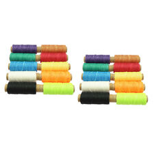 20pcs Leather Accesseories Cotton Waxed Thread for Hand or Machine Sewing