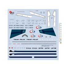 Boeing B720 (Trans Polar) 1/144 Scale Decals JPLN144-556 New!