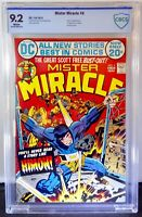 Mister Miracle 9 CBCS 9.2 DC 1972 Jack Kirby Origin Mister Miracle 1st App Himon
