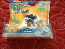 Paw Patrol Mighty Pups Super Paws Chase Action Figure Brand New