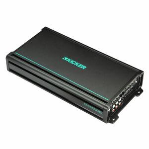 Kicker 48KMA6006 KM Series 450W RMS 6-Channel 2-ohm Class-D Marine Amplifier