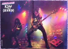 KISS ~ 1992 UK Magazine centrefold poster