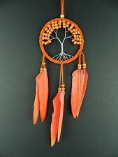 ORANGE TREE OF LIFE DREAM CATCHER STUNNING NEW DESIGN DREAMCATCHER BEDROOM GIFT