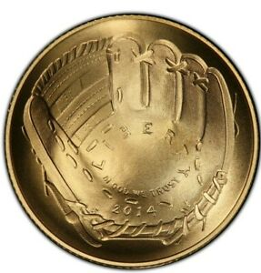 2014-W PCGS MS70 BASEBALL HOF RARE FIRST PITCH BALTIMORE $5 GOLD COIN ONLY 61!