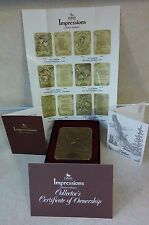 FATHER MADISON COLLECTION IMPRESSIONS 1990 FOREVER IN BRONZE ORIGINAL PACKAGE