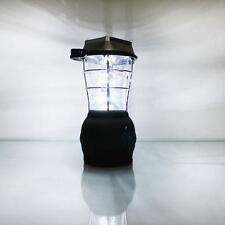 36 LED Solar Panel/Dynamo 240/12V Charging Handcrank Lantern Camping Fishing usb
