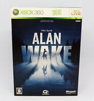 Microsoft XBOX 360 - ALAN WAKE Edición limitada VERSIÓN JAPÓN completo