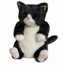 Cat Stuffed Plush Toy Silver tabby Made in Japan Animal Neko 26cm / 10in