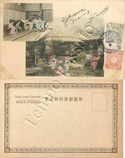 Giappone - Yokohama, lezione di danza - 1903